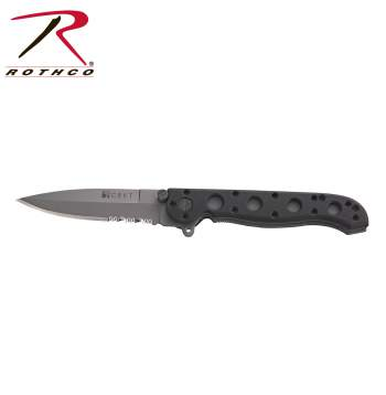 Crkt M16-13z Folding Knife,folding knife,folding knives,knife,knives,crkt knife,grey,grey knife,grey knives,serrated blade,tactical knife,tactical knives,zombie,zombies