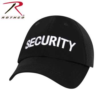 tactical cap, mesh cap, baseball cap, hat, cap, rothco, rothco cap, mesh hats, mesh caps, security caps, uniform caps, security hat, lightweight security cap, public safety, uniforms, security guards, security guard hat