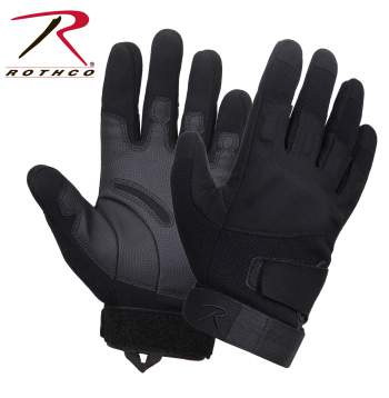 rothco low profile padded gloves, low profile padded gloves, padded gloves, gloves, tactical shooting gloves, work gloves, protective gloves, tactical gloves, military gloves, glove, rothco gloves, duty gloves