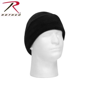 Rothco Windproof Watch Cap, winter hat, knit cap, beanie, warm hat, snow hat, skull cap, headwear, cold weather gear, winter accessories, military watch cap, PTFE, Polytetrafluoroethene