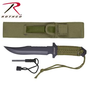 Rothco paracord knife with fire starter, paracord knife with fire starter, paracord knife, paracord, fire starter, paracord fire starter, knife, knives, paracord knives, paracord knives with firestarter, emergency fire starter, hunting knives, pocket knives, paracord hunting knives, paracord pocket knives, pocket knives, stainless steel knives, stainless steel blade, stainless steel, stainless steel knife, camping knives, paracord with fire starter, fire paracord knife, para cord, parachute cord knife, magnesium fire starter, magnesium fire starter, outdoor survival gear, survival gear, survival, tactical, tactical gear, paracord survival, stainless steel survival knife, survival paracord, stainless survival knife, 550 cord knife, 550 cord fire starter, 550 cord
