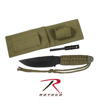 Rothco paracord knife with fire starter, Rothco paracord knife, paracord knife with fire starter, paracord knife, para cord knife, fire starter, 500 cord, cord knife, survival knives, paracord knives, zombie, zombies, bug out bag gear, bug out bag, knives with paracord, paracord, para cord, survival knife, tactical, tactical knife, tactical knives, military, military knife, military knives, orange paracord, orange, orange paracord knife and fire starter, orange paracord knife, olive drab, olive drab paracord, olive drab paracord knife and fire starter, olive drab paracord knife, black paracord, black, orange paracord knife and fire starter, black paracord knife, safety Green paracord, safety Green, safety Green paracord knife and fire starter, safety Green paracord knife, fire starter, parachute cord, cord, knife with fire starter, flint, magnesium fire starter, hunting knife, hunting knives