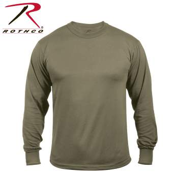 Rothco Moisture Wicking Long Sleeve T-Shirt, moisture-wicking, sweat-wicking, sweat-wicking fabric, sweat-wicking clothing, moisture-wicking fabric, moisture-wicking clothing, moisture-wicking shirts, long sleeve, long sleeve shirts, olive drab long sleeve shirt, full sleeve shirts, long sleeve tee, long sleeve shirts for men, men's long sleeve, performance wear, Moisture-Wicking Long Sleeve T-Shirt, dry wick shirt, dry wick long sleeve shirt, moisture-wicking t-shirts, water wicking shirt, sweat-wicking shirt, wicking shirts, dry wick t-shirts, wicking t-shirts, running shirt, long sleeve running shirt, wicking shirt, quick-dry shirt, long-sleeved shirt, long sleeve, performance long sleeve shirt