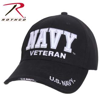 Rothco Deluxe Marines Navy Low Profile Cap, Navy hat, navy cap, U.S navy cap, u.s navy hat, us navy cap, united states, armed forces, military, low profile cap, baseball cap