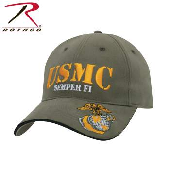 Rothco USMC Semper Fi Low Profile Cap, USMC Hat, marine hat, marine corps hat, marine cap, usmc cap, marine veteran hat, semper fi hat, semper fi cap, marine symbol, marine motto, marine slogan, marine slogan hat, marine motto hat, low profile hat, low profile cap, low crown hat, baseball cap, hat, ball cap, tactical baseball cap, tactical hat, tactical cap, marine corps, USMC