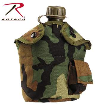 canteen covers, canteen accessories, canteens, canteen, military canteen, army canteen, nylon canteen, military canteen covers, 1qt., 1 qt cover, 1 quart cover, 1 quart canteen cover, covers,