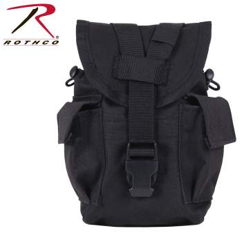 Rothco MOLLE II Canteen & Utility Pouch, MOLLE, MOLLE pouch, M.O.L.L.E, M.O.L.L.E Pouch, canteen pouch, utility pouch, canteen holder, camping gear, camping supplies, outdoor gear, military equipment, molle canteen holder, molle utility pouch, MOLLE canteen pouch, pouch canteen, MOLLE 1 quart canteen pouch, military canteen pouch, us army canteen pouch, MOLLE canteen pouch multicam, multicam canteen pouch, military canteen bag, MOLLE Utility Pouch, Mini Utility Pouch, tactical utility bag, utility pouch multicam, molle bag, molle utility pouch, military pouch