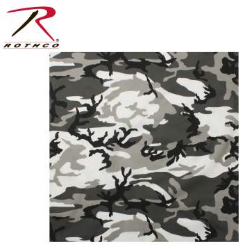 Rothco Bandana, bandana, headwear, camo accessories, Red Camo bandana, Red Camo headwear, bandanas, head wear