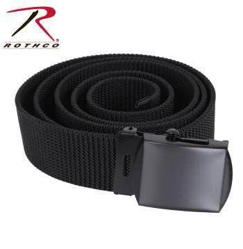 Rothco Nylon Web Belt, web belts, webbelts, military web belts, army belt, web military belt, army web belt, military  web belt, fashion belt,  belt, belts, black web belt, fabric belt, nylon web belts, nylon belt