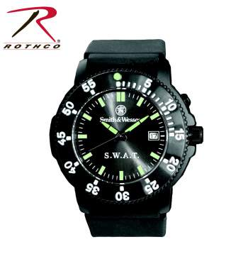watch,smith & wesson watch,time piece,s.w.a.t watch
