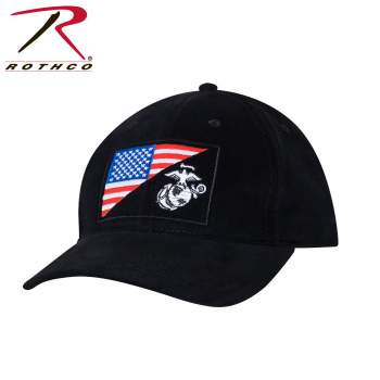 Rothco USMC Globe and Anchor Low Pro Cap, USMC Globe and Anchor Low Pro Cap, American Flag Low Pro Cap, USA Flag Hat, USA Hat, American Flag Hat, Low Pro Hat, Low Pro Cap, Low Profile Cap, Low Profile Hat, Tactical Hat, USA Tactical Hat, USMC Globe Cap, USMC Globe Hat, USMC Globe and Anchor Hat, USMC Globe and Anchor Cap, Military Hat, Military Cap, Marine Hat, Marine Cap, Low Profile Marine Cap, Low Profile Marine Hat