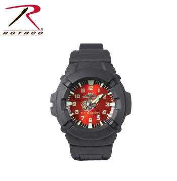 Watch,marines watch,military watch,marines logo,marines logo watch,combat watch,time piece