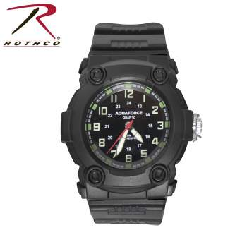 watch,military watch,time piece, watches, military watches, aquaforce watch, water resistant watches,