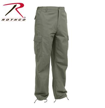 Vintage pants,Vintage Vietnam Style pants,fatigue pants,military pants,military fatigue pants,olive drab pants,od pants,Vietnam fatigue pants,vintage fatigues,Rip Stop Pants,Military cargo pants,rothco vintage collection,