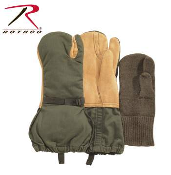 gloves, used gloves, wholesale gloves, mittens, wholesale mittens, leather, leather trigger finger, trigger finger, liner, outerwear, gi gloves, military gloves, used military gloves,military surplus gloves