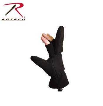 Fingerless Sniper Mittens,fingerless mittens,mittens,finger less mittens,fingerless gloves,convertible gloves,convertible mittens,mitten gloves,gloves and mittens,fleece gloves,glove with flap,flap gloves,flap mittens,retractable mitten,sniper gloves,rothco gloves,gloves,winter gloves