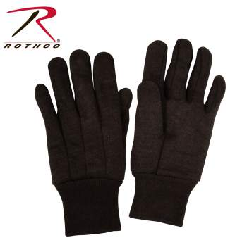 work gloves,gloves,glove,workmans glove,yardwork glove,yard work glove,home improvement glove,jersey cloth,jersey gloves,knit glove,fleeced lined,brown jersey gloves,work glove,rothco gloves,jersey work gloves