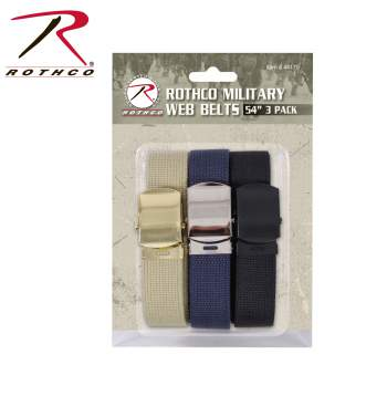 "Rothco 54 Inch Military Web Belts in 3 Pack, package belts, web belt buckles, military webbing, webbing belts, military style web belts, military webbing belt, 54 inch military web belts, web belts, 54 inch military web belt, military web belt, military web belts, web belt, 54 inch belts, 54 inch belt, military belt, military belts, 54"" web belts, 54"" web belt, fashion belt, belt, belts, webbed belts, webbed belt, military-style belts, rothco web belts, wholesale web belts, webbing, army web belt, military style web belt, army belt"