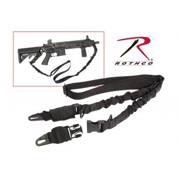Rothco 2-Point Tactical Sling, 2 point sling, gun sling, sling, shooting accessories, gun accessories, tactical equipment, tactical accessories, airsoft accessories, airsoft guns, airsoft, shooting supplies, shooting equipment, gun equipment, gun slings, rifle slings, airsoft slings, military rifle sling, tactical rifle sling, tactical sling, firearm sling, gun sling, tactical sling