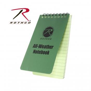 all weather notebook, notebook, waterproof notebook, water proof note book, all weather writing, write in the rain,