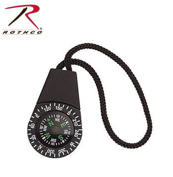 zipper pull, zipper accessories, compass, hiking compass, zipper pull compass, small compass,