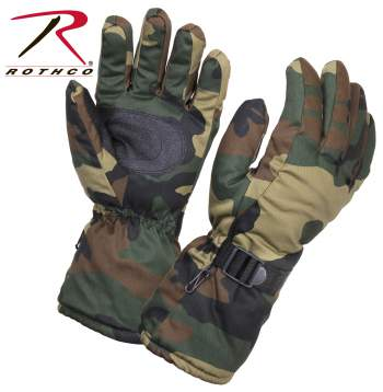 rothco gloves, gloves, glove, winter gloves, winter glove, cold weather glove, cold weather gloves, insulated gloves, thermoblock gloves, hunting gloves