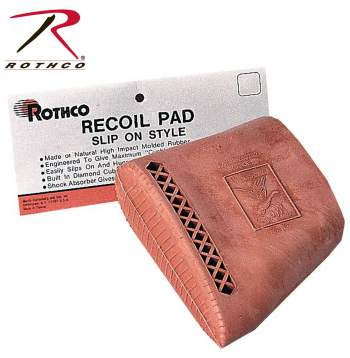 Recoil Pad,shooting recoil pad,rubber recoil pad,rubber pad,slip on recoil pad,slip-on recoil pad