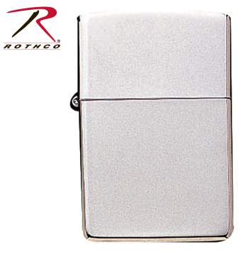lighter, zippo lighter, zippo, the zippo, gas lighter, refill lighter, torch lighter, brushed metal, chrome zippo, chrome