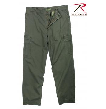Rothco Vintage Flat Front Cargo Pants
