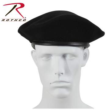 Rothco Beret,Government issue Beret,beret,hat,headwear,black beret,black military beret,military beret,wool beret,red beret,red military beret,green beret,green military beret,maroon beret,maroon military beret,navy blue beret,navy blue military beret