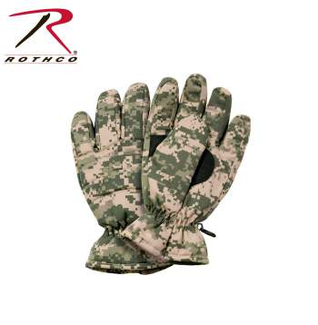 Rothco insulated hunting gloves, insulated hunting gloves, thermoblock insulated hunting gloves, hunting gloves, insulated gloves, glove, gloves, cold weather gloves, hunting, camo gloves, camo hunting gloves, acu digital camo, acu digital camouflage, acu digital camo gloves, acu digital camo hunting gloves, woodland camo, woodland camouflage, woodland camo gloves, woodland camo hunting gloves, woodland camo insulated gloves, black, black gloves, black cold weather gloves, black hunting gloves, black insulated gloves, camouflage, camo, camouflage gloves, camouflage hunting gloves, outdoor gloves, Rothco gloves, winter gloves, snow gloves, thermoblock gloves, thermoblock,