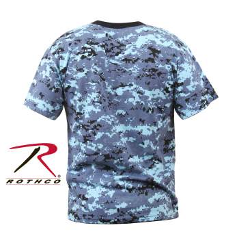 6773 Details about  /Rothco Kids ACU Digital Camo T-Shirt