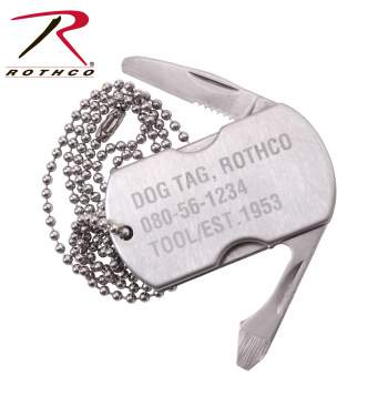 Rothco Dog Tag Multi-Tool, Rothco dog tag, Rothco multi-tool, dog tags, dog tag, multi tool, multi-tools, dog tag multi-tool, dog tag multitools, dog tag with knife, screwdriver dog tag, bottle opener dog tag, knife dog tag, dog tag multi-tool with knife, multi purpose tool, personalized dog tags, multi tool keychain, dog tags for men, dog tags military, military dog tags, survival multi-tool, survival multi tool, survival dog tag multi tool, survival dog tag, small multi tool, pocket multi tool, dog tag tool,