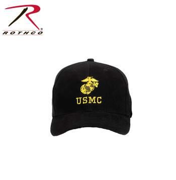 USMC Insignia Cap,hat,cap,USMC hat,USMC cap,baseball cap,baseball hat,USMC baseball hat,insignia cap,marines cap,marines hat