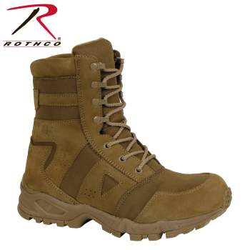 Rothco Forced Entry AR 670-1 Coyote Boot, Rothco Boots, combat boots, ar 670-1, ar 670-1 boots, military boots, army boots, 670-1, army issue boots, standard issue army boots, tactical boots, 8 inches, military combat boots, coyote boots, boots, brown combat boots, da pam 670-1, army regulations, army combat boots, army dress uniform