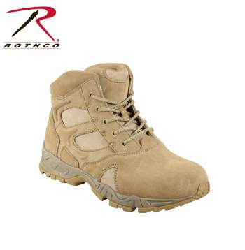 forced entry boot,tactical boots,military tactical boot,tactical army boots,military boot,SWAT Boot,Swat tactical boots,combat boots,side zipper,steel shank,moisture wicking boot,deployment boot,rothco boot,boots,army boots,desert tan boots,desert tan army boot, tan combat boots