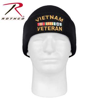 Rothco Vietnam Veteran Deluxe Embroidered Watch Cap, Vietnam Hat, Vietnam Wool Hat, Acrylic Hats, Acrylic Caps, Acrylic Beanie, Acrylic Knit Beanie, Wool Beanie, Rothco Beanie, Rothco Watch Cap, Rothco Beanie, Acrylic Knit Hat, Vietnam Caps, Vietnam Veteran Hat, Vietnam Vet Hat, Vietnam War Hats, watch cap, acrylic watch cap