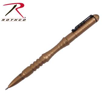 Rothco Tactical Pen, Tactical Pen, Aluminum Tactical Pen, Glass Breaker, Pen, Coyote Tactical Pen, Rothco Pen