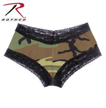 Camo underwear, women underwear, camo women's underwear, camo undies, camo panties, camo boy shorts, boy shorts, underwear, panties,