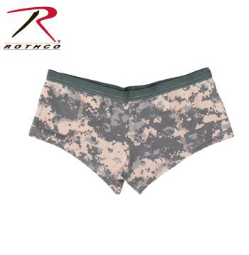 Booty shorts,booty short collection,womens underwear,womens undergarments, tank & shorts,boy shorts,full coverage underwear,underwear,booty shorts for women, military inspired underwear for women,lounge wear,womens camo,camouflage,camo,woodland camouflage,ACU camo,camo underwear,camo shorts,womens camo underwear, ACU, blank underwear