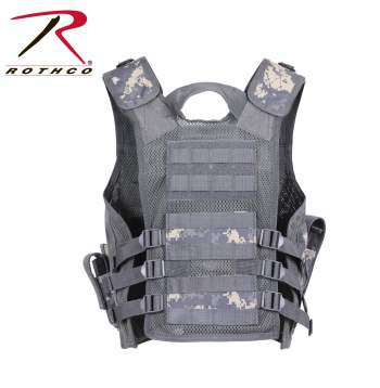 Black Rothco 5593 Kid/'s Tactical Cross Draw Vest