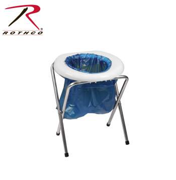 Rothco Portable Camp Toilet, camp toilet, portable toilet, camping supplies, camping gear, outdoor toilet, portable bathroom for camping, adult portable toilet, camping porta potty, camping potty, camping toilet, porta potty camping toilet, porta potty, portable camping toilet, small portaloo, camper potty, outdoor camping toilet