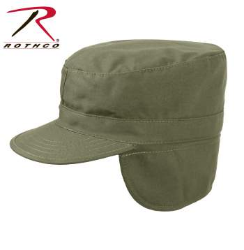 Government issue Combat Cap with flaps,gi combat cap,combat cap,military cap,combat caps,woodland camo combat hat,flaps