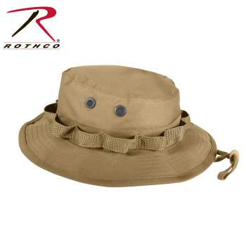 Boonie Hat Wide Brim Military Camo Hunting Camping Bucket Cap Rothco!