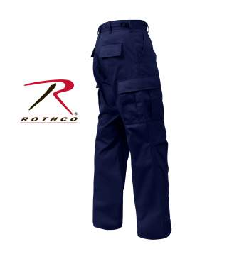 Rothco,Midnight Blue,Zipper,Fly,Uniform,Pants,blue bdus,navy bdu pants,navy blue bdu,blue bdu pants,battle dress uniform,army pants,military uniform pants,poly cotton,Army uniforms,fatigue pants,Zip Fly,Black,BDU,military cargo pants,black bdu trousers,cargo pants,black bdu,black bdu pants,uniform pants