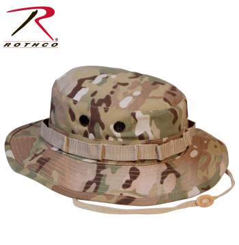 Rothco Boonie Hat, MultiCam, boonie hat, bucket hat, hats, caps, wholesale boonie hat, camo boonie hat, camouflage, polyester, cotton, rip stop, rip-stop, us made, side vents, boonie hat, boonie hats, boonies, boonie, bucket hats, military hats, camo hats, camo boonie hats, mutlicam hats, multicam boonies, multicam boonie hat, military camo, military camouflage, Rothco, military boonie