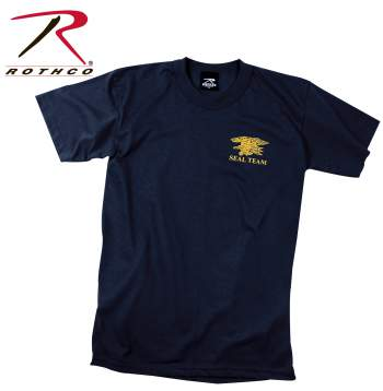 Rothco,t shirt print,tee shirt,short sleeve t shirt,short sleeve tee,tee shirts,t shirt,t-shirt,cotton tee,cotton tshirt,cotton t-shirt,poly tee,cotton poly t shirt,polyester cotton,Logo tshirt,logo t-shirt,navy seals shirt,navy seals t-shirt,navy seals,black tshirt,black shirt,graphic tee