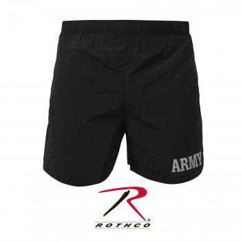 Rothco, Physical Training, army shorts, shorts, short pants, gym wear, men shorts, army shorts, army training shorts, summer shorts, physical training pants, back army shorts, black army shorts, marine shorts, USMC