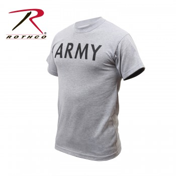 Olive Drab Marines Tee Physical Training T-Shirt by Rothco