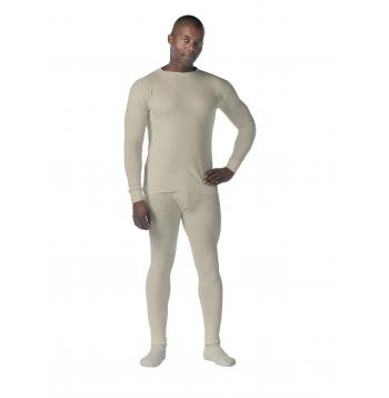 Rothco,Thermal,Knit,Underwear,Tops,thermal shirt,underwear tops,thermal knit,long johns,black,fire,retardent,flame resistant,fire retardant,thermal top,,desert sand,sand